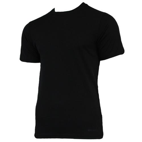 Campri Campri Heren - Thermo shirt korte mouw - Zwart
