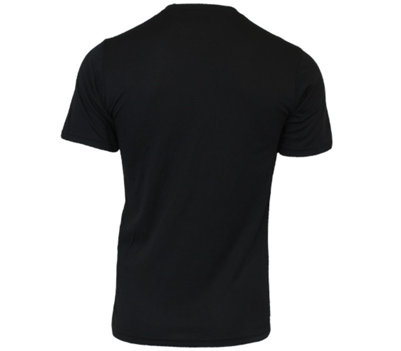 Campri Heren Thermo shirt korte mouw - Zwart