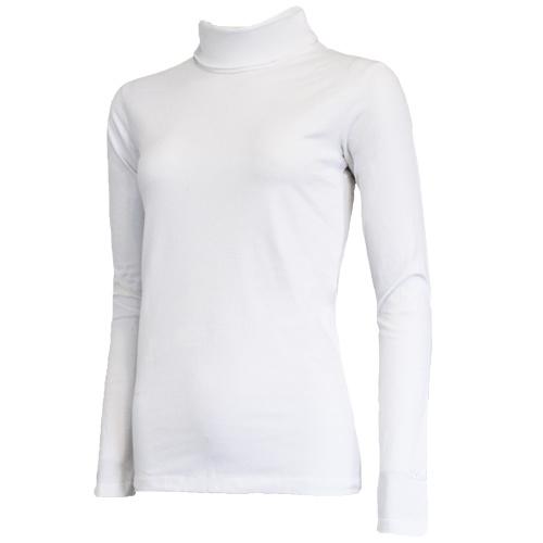 Campri Campri Dames - Skipully - shirt met col - Wit
