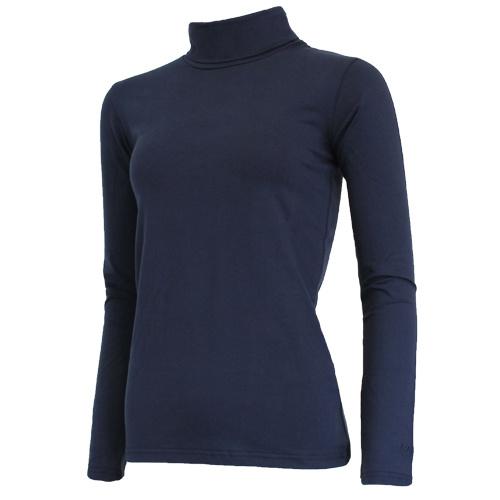 Campri Campri Dames - Skipully - shirt met col - Donkerblauw