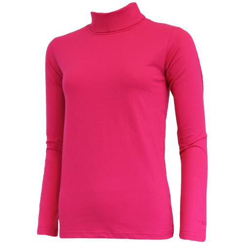 Campri Campri Dames - Skipully - shirt met col - Roze