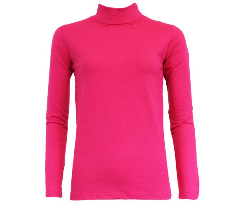 Campri Dames Skipully - shirt met col - Roze