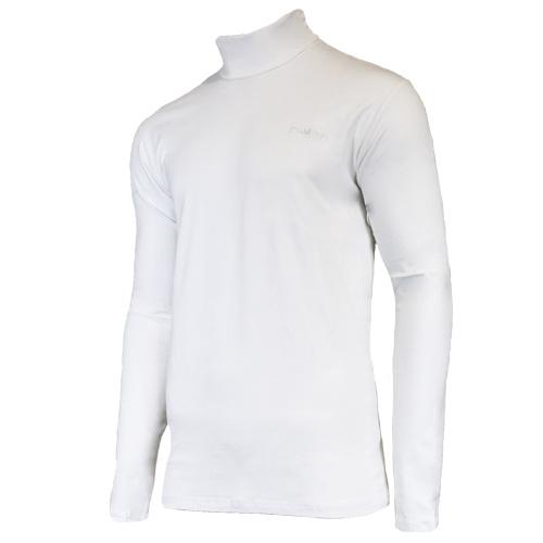 Campri Campri Heren - Skipully - shirt met col - Wit