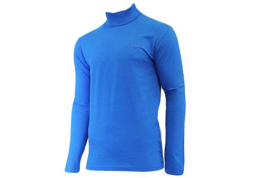 Campri Campri Skipully - shirt met col - Cobaltblauw