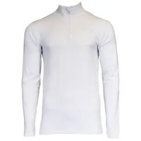 Campri Heren Skipully 1/4 rits - shirt met col - Wit