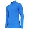 Campri Campri Heren Skipully 1/4 rits - shirt met col - Cobaltblauw