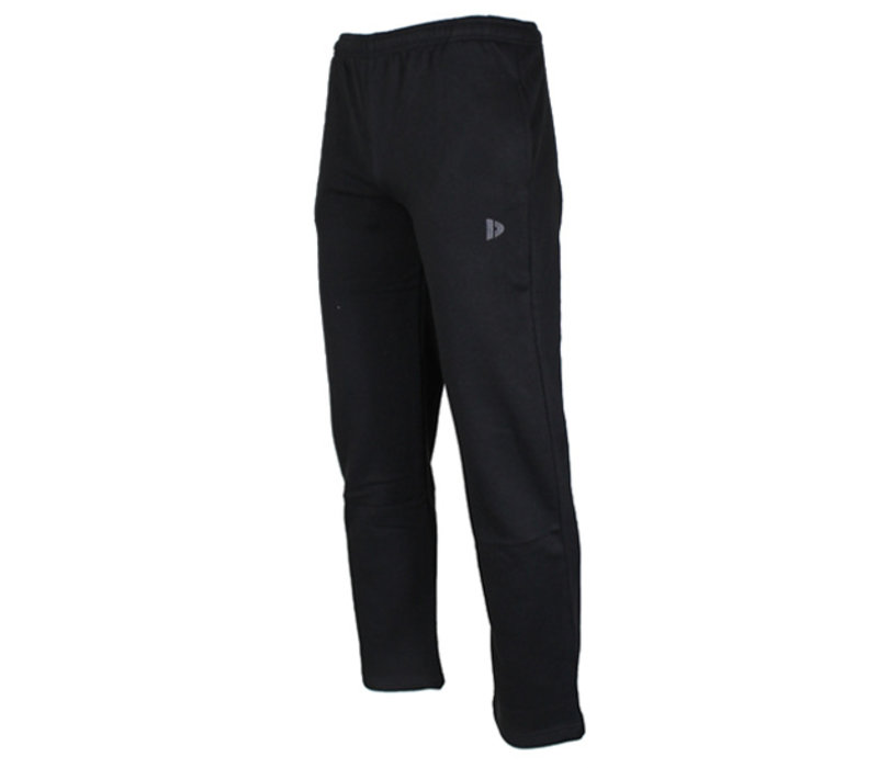 Donnay Joggingbroek met rechte pijp - Zwart - NIEUW