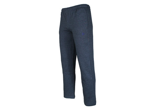 Donnay Donnay Joggingbroek dunne kwaliteit met rechte pijp - Spijkerbroek blauw gemêleerd - NIEUW