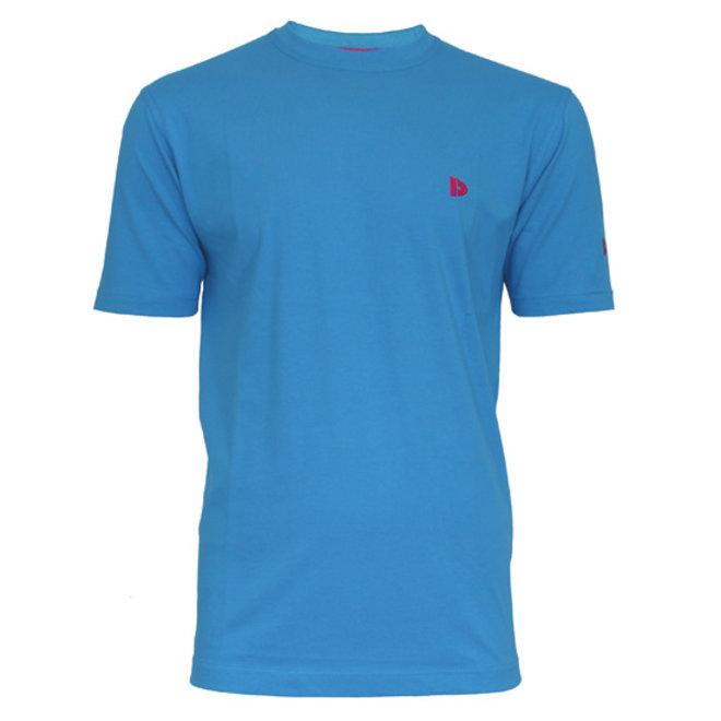 Donnay Heren - T-Shirt Vince - Midden blauw