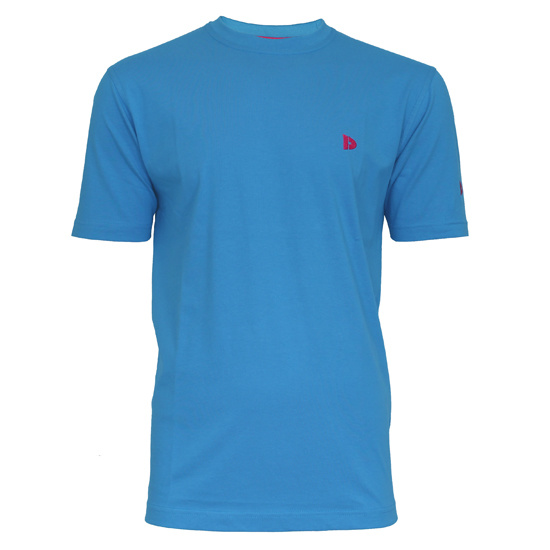 Donnay Donnay Heren - T-Shirt Vince - Midden blauw