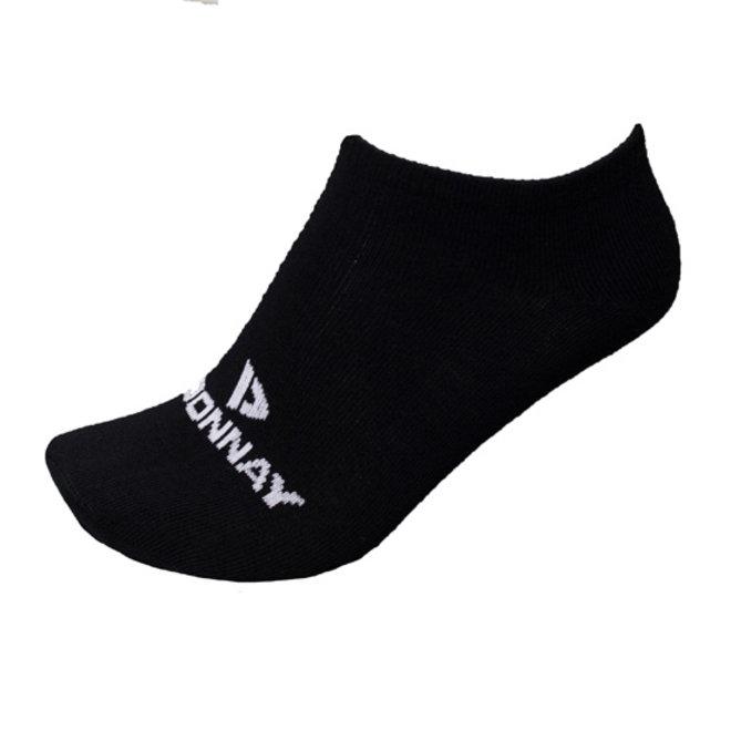 Donnay Unisex Sneakersokken - Zwart - 3 paar