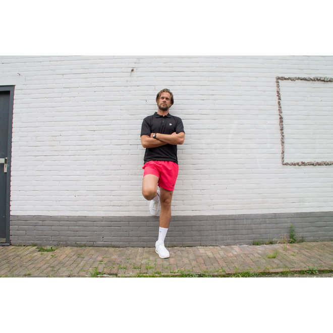 Donnay Heren - Sport/zwemshort Kay - Koraal Rood/roze
