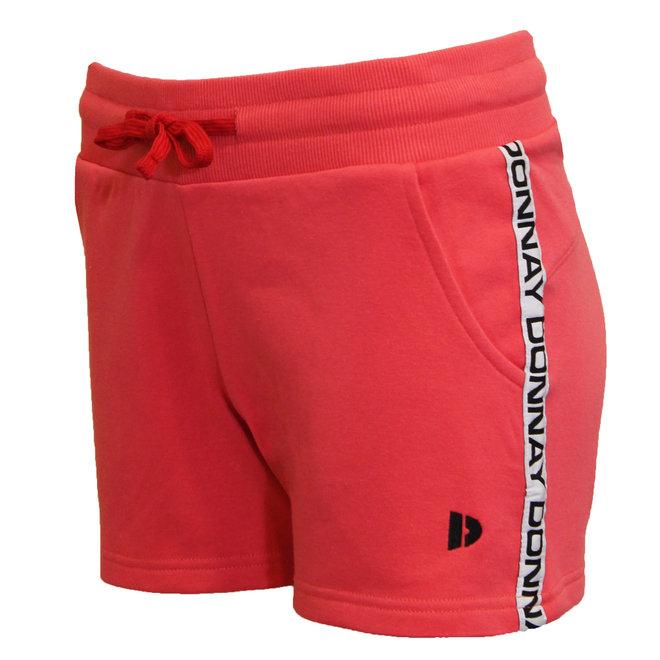 Donnay Dames - Joggingshort Liz - Koraal rood/roze