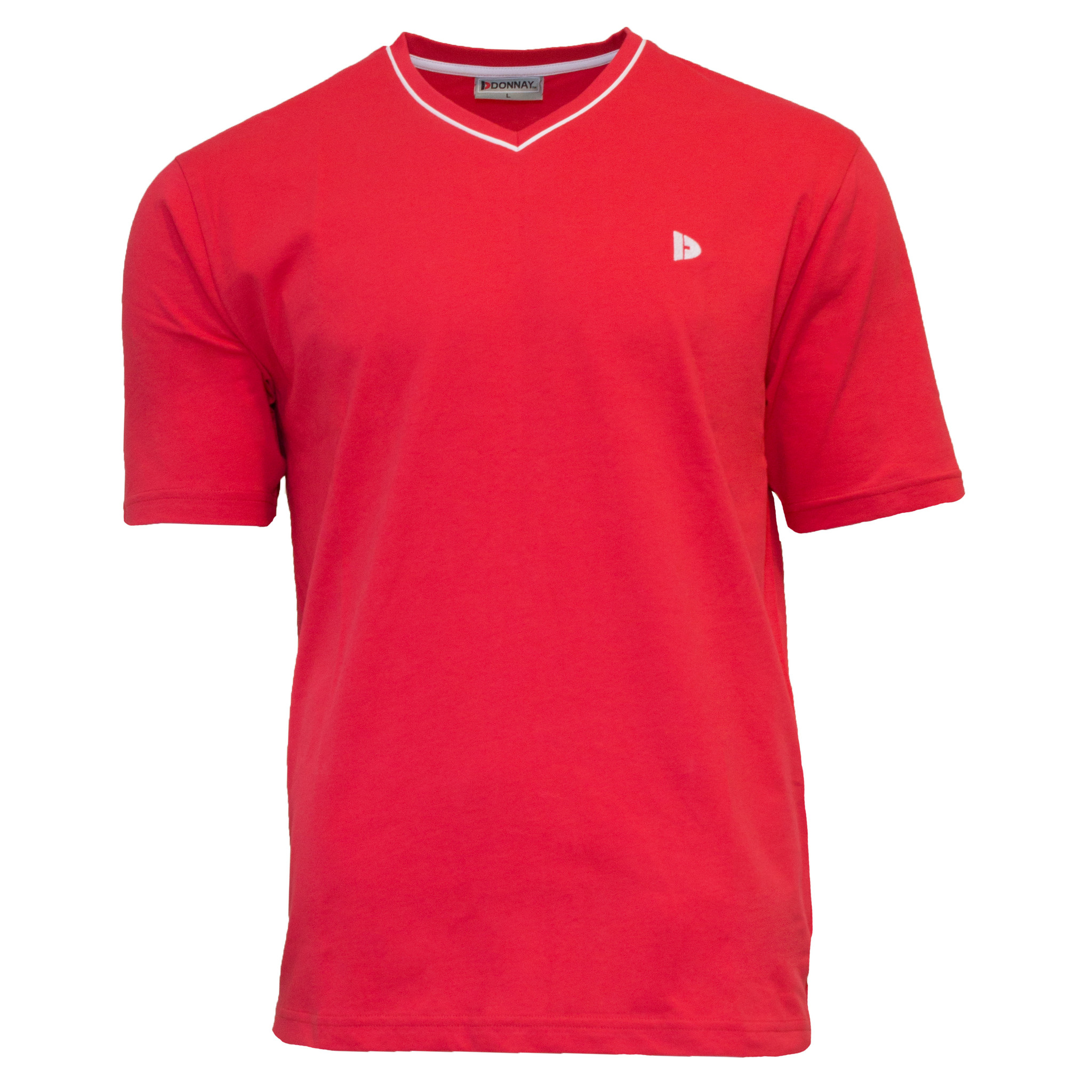 Donnay Donnay Heren - T-Shirt Jason - Rood