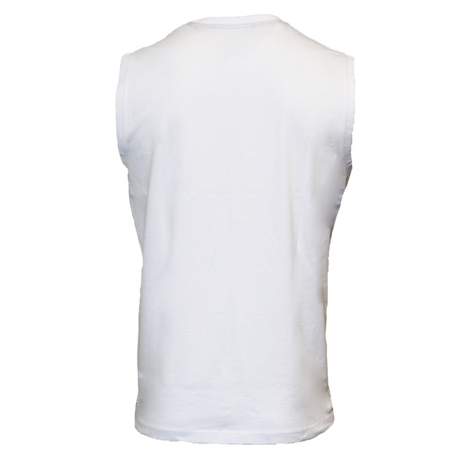 Donnay Heren - Mouwloos T-shirt Stan - Wit