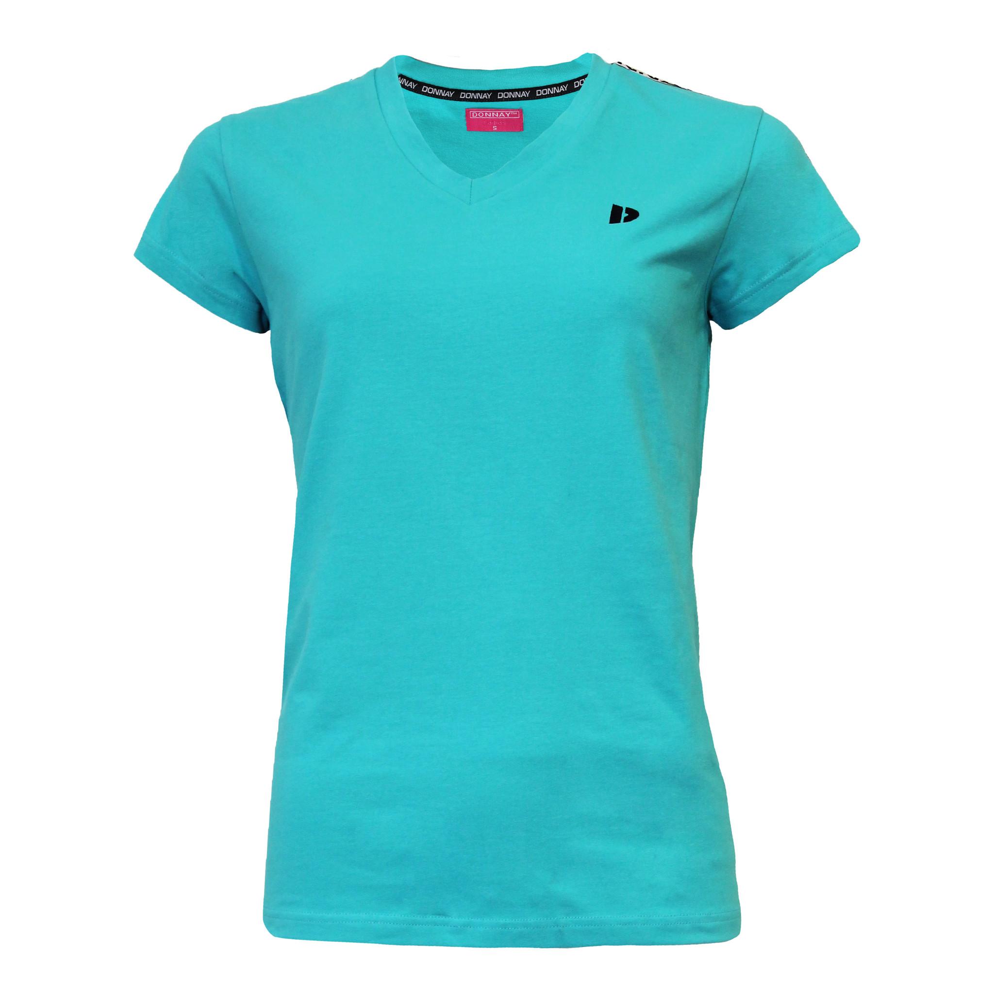 Donnay Donnay Dames - T-shirt Lois - Oceaan Groen