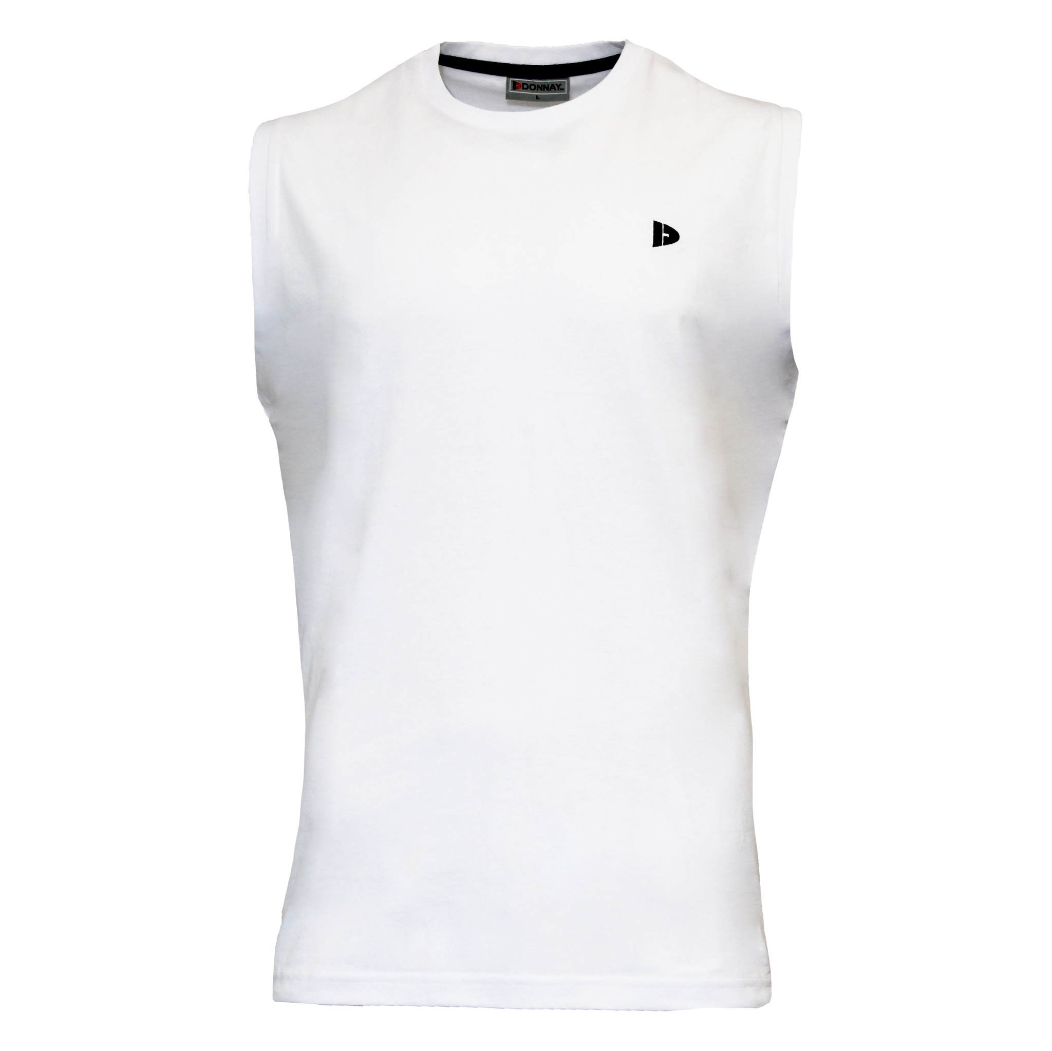 Donnay Donnay Heren - Mouwloos T-shirt Stan - Wit