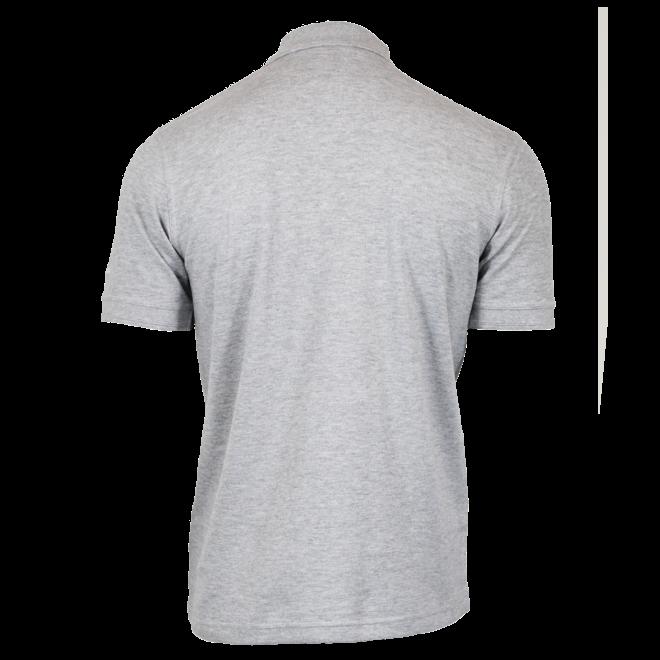 Donnay Heren - Polo shirt Noah - Lichtgrijs gemêleerd
