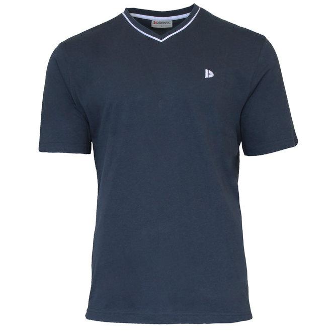 Donnay Heren - T-Shirt Jason - Donkerblauw