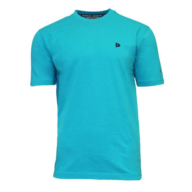 Donnay Heren - T-Shirt Vince - Oceaan Groen