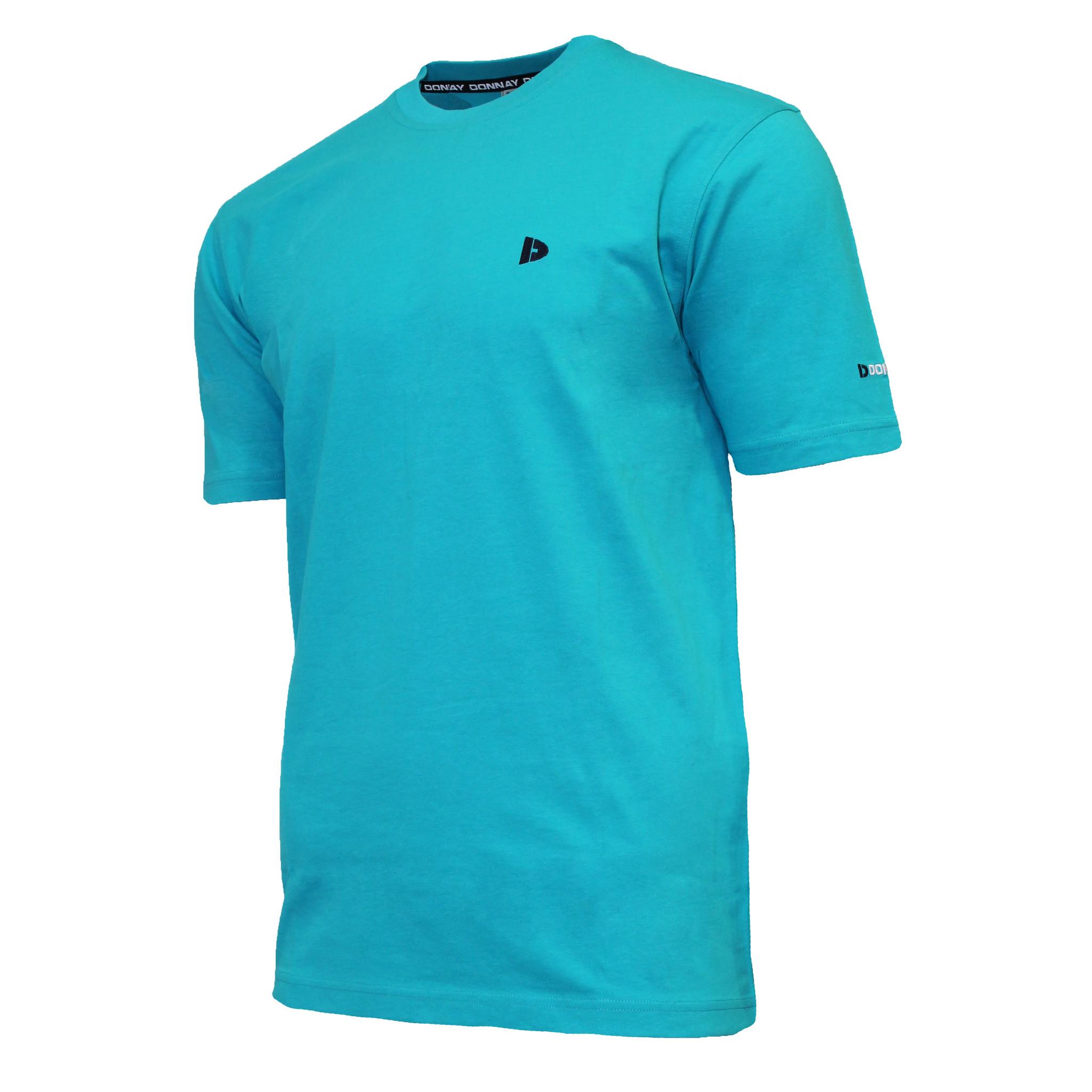 Donnay Donnay Heren - T-Shirt Vince - Oceaan Groen