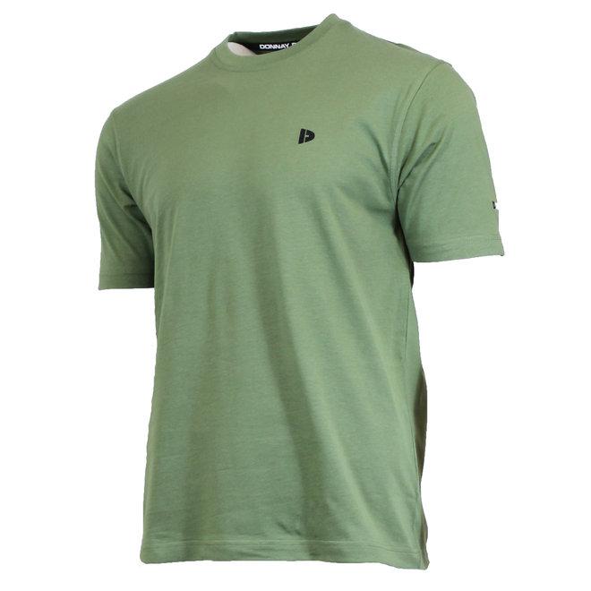 Donnay Heren - T-Shirt Vince - Army Groen