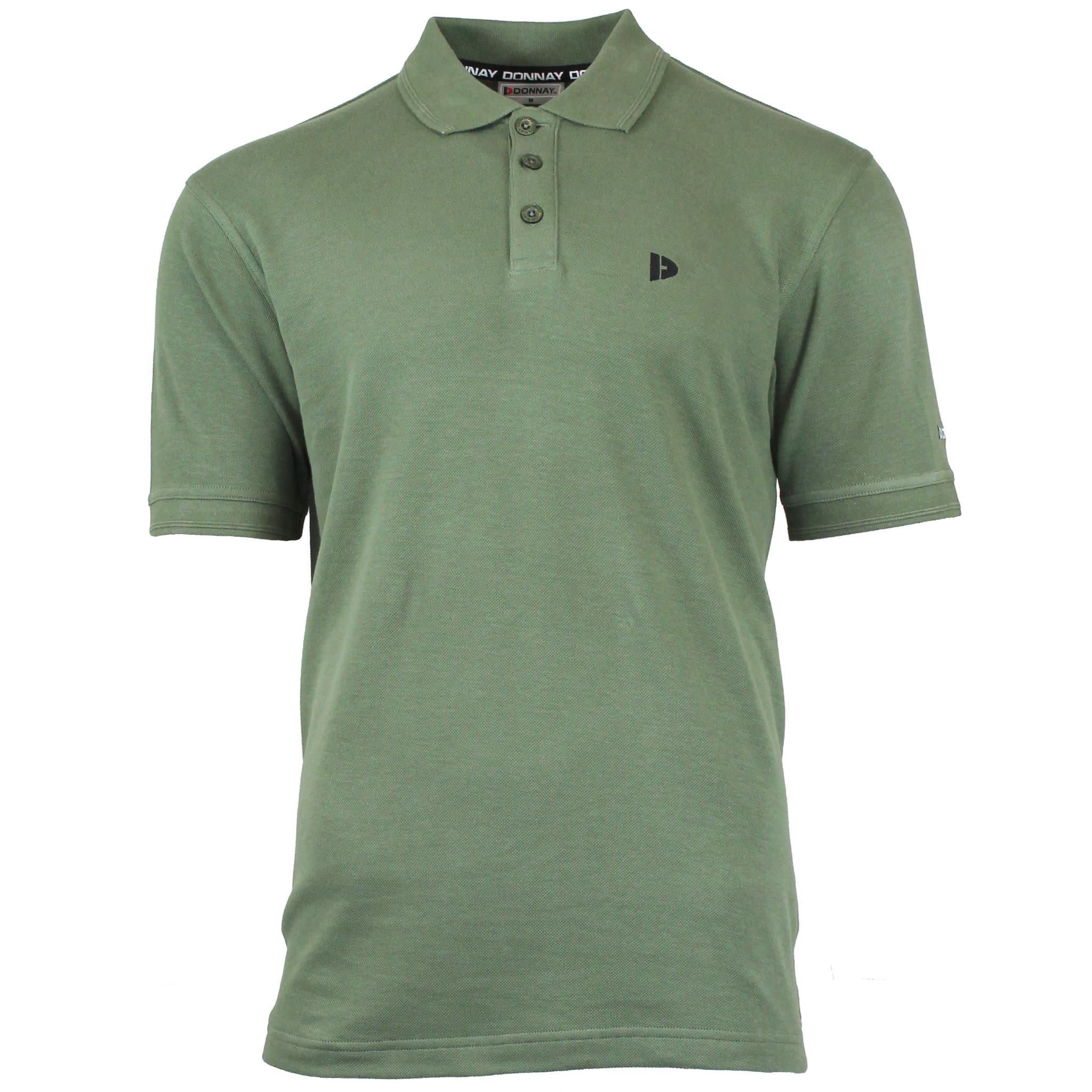 Donnay Donnay Heren - Polo shirt Noah - Legergroen