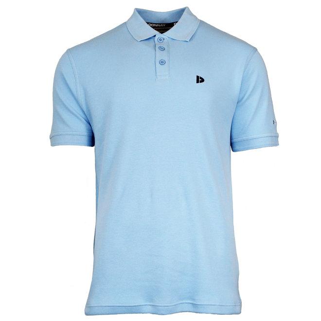 Donnay Heren - Polo shirt Noah - Lichtblauw