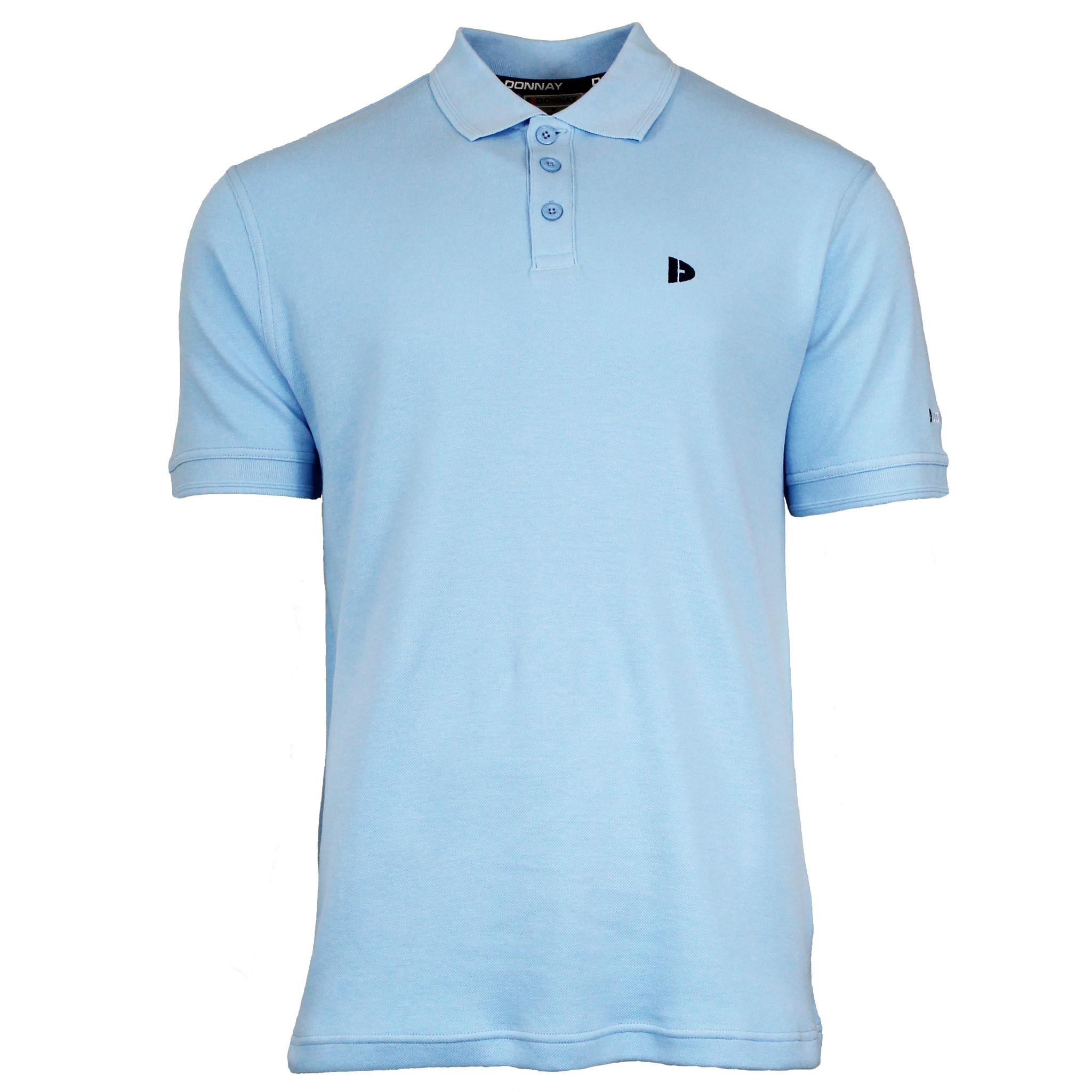 Donnay Donnay Heren - Polo shirt Noah - Lichtblauw