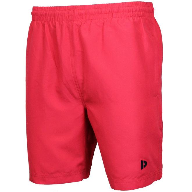 Donnay Heren - Sport/zwemshort Dex - Koraal Rood/roze