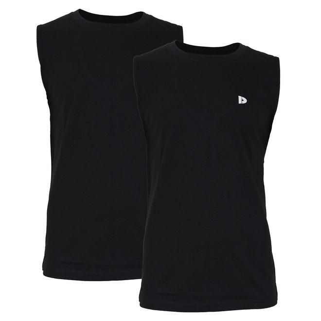 Donnay Heren - Mouwloos T-shirt Stan - Zwart