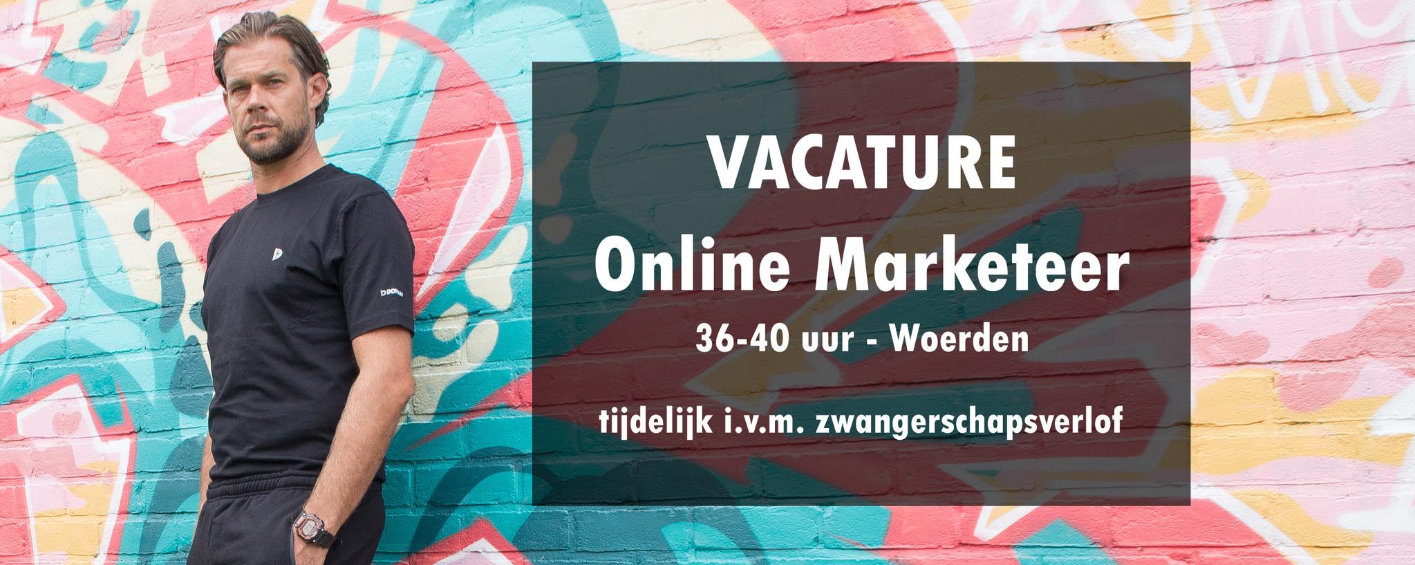 Vacature online marketeer Donnay