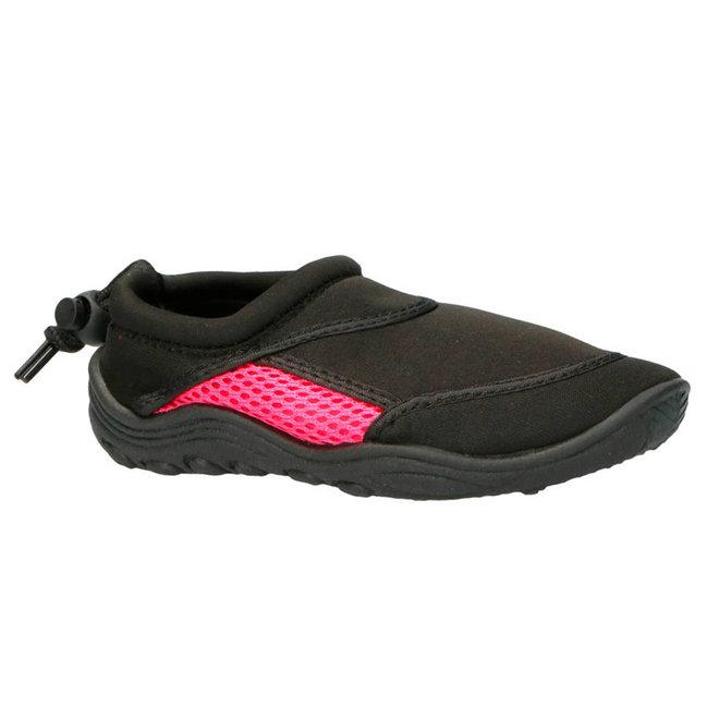 Campri Unisex - Waterschoenen - Zwart/roze