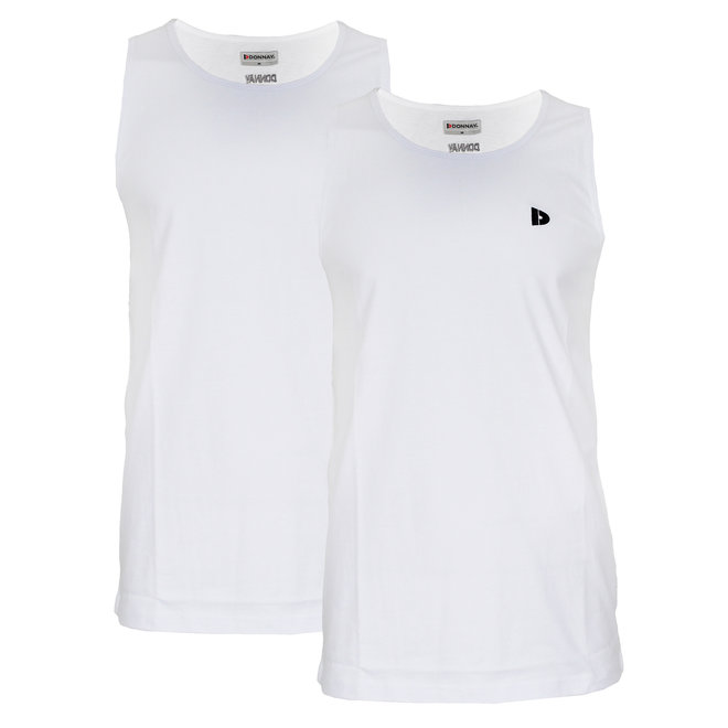 Donnay Heren - Singlet James - Wit