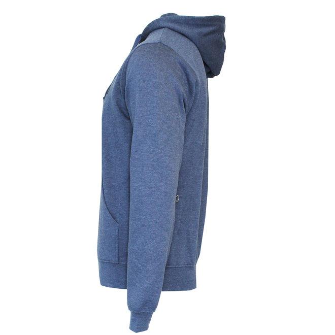 Donnay Heren - Vest met capuchon Bruce -Donkerblauw gemêleerd