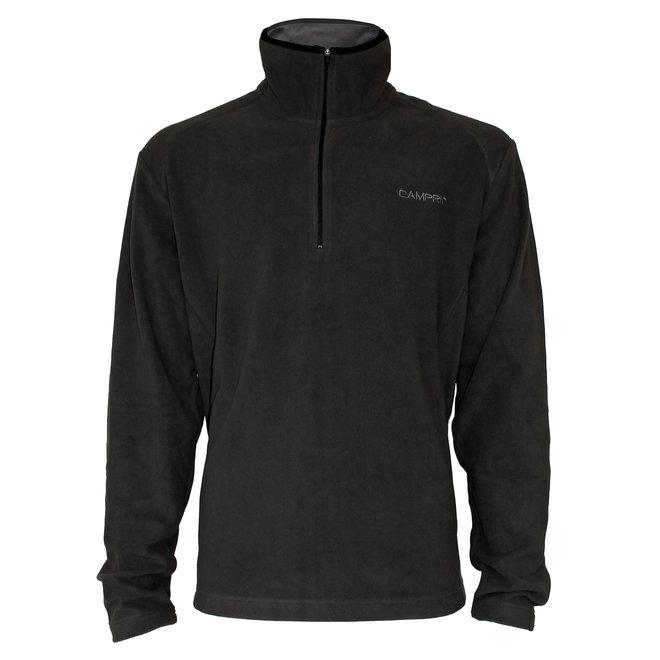 Campri Heren -  Micro Polar fleece sweater - Bruin