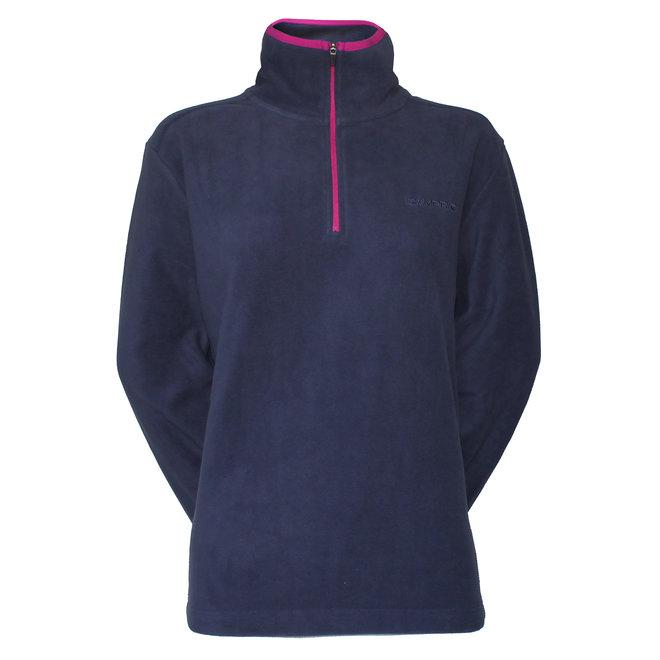 Campri Dames Micro Polar fleece sweater - Blauw