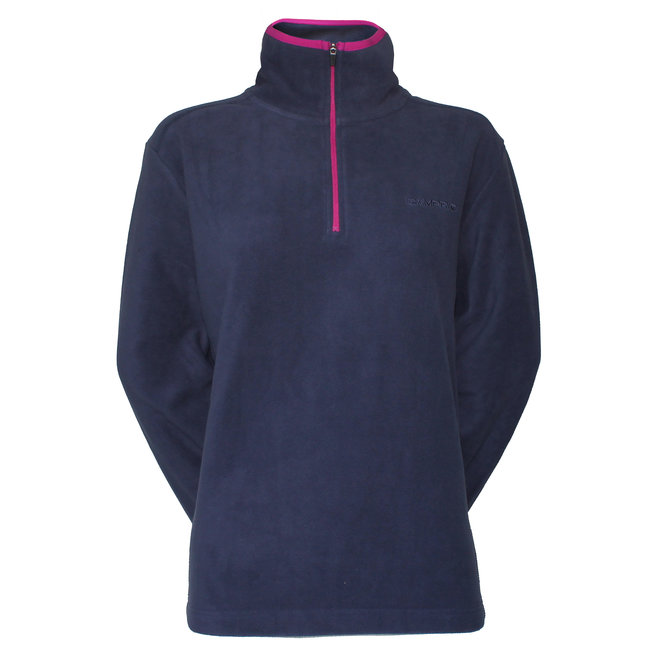 Dames Micro Polar fleece sweater - Blauw