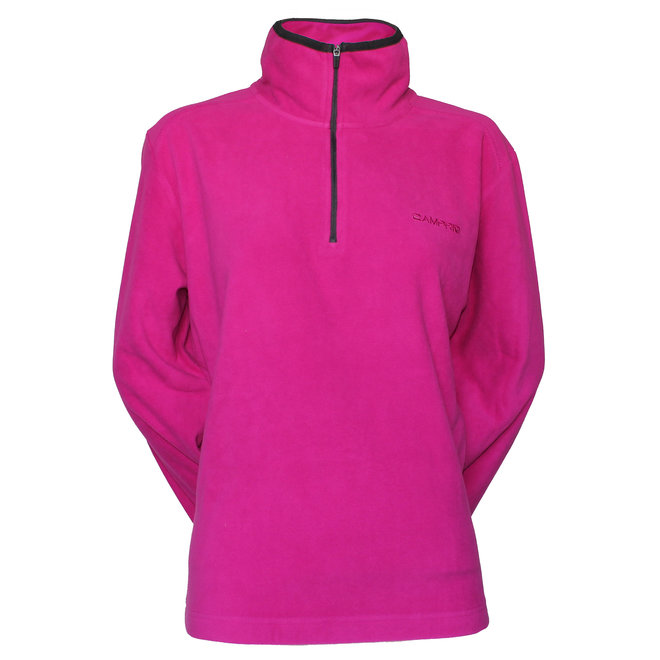 Campri Dames Micro Polar fleece sweater - Framboosroze