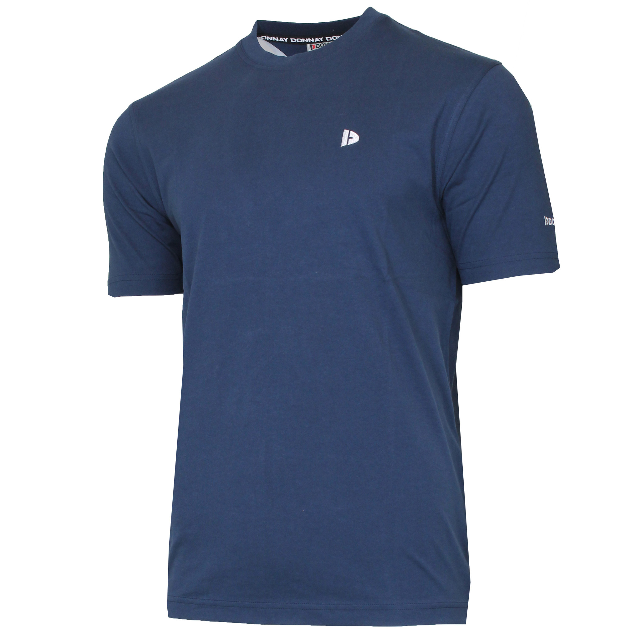 Donnay Donnay Heren - T-Shirt Vince - Donkerblauw