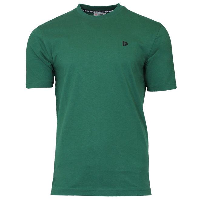 Donnay Heren - T-Shirt Vince - Bosgroen