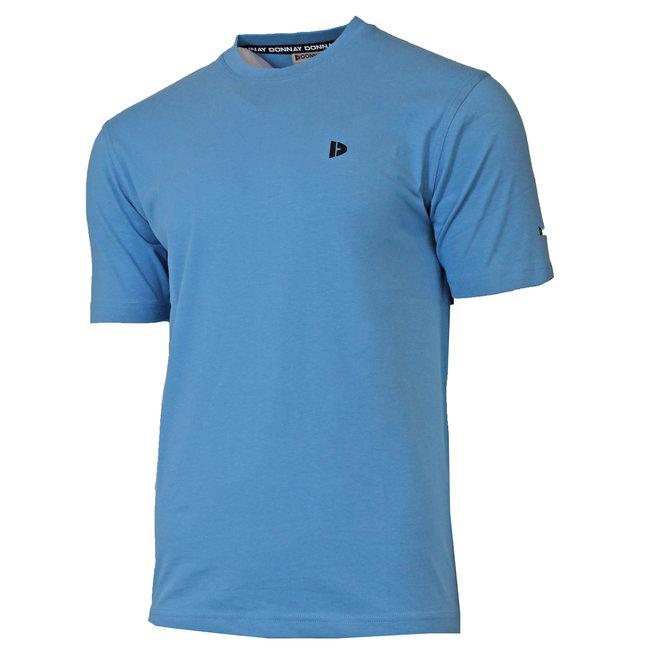 Donnay Heren - T-Shirt Vince - Dusty Blauw