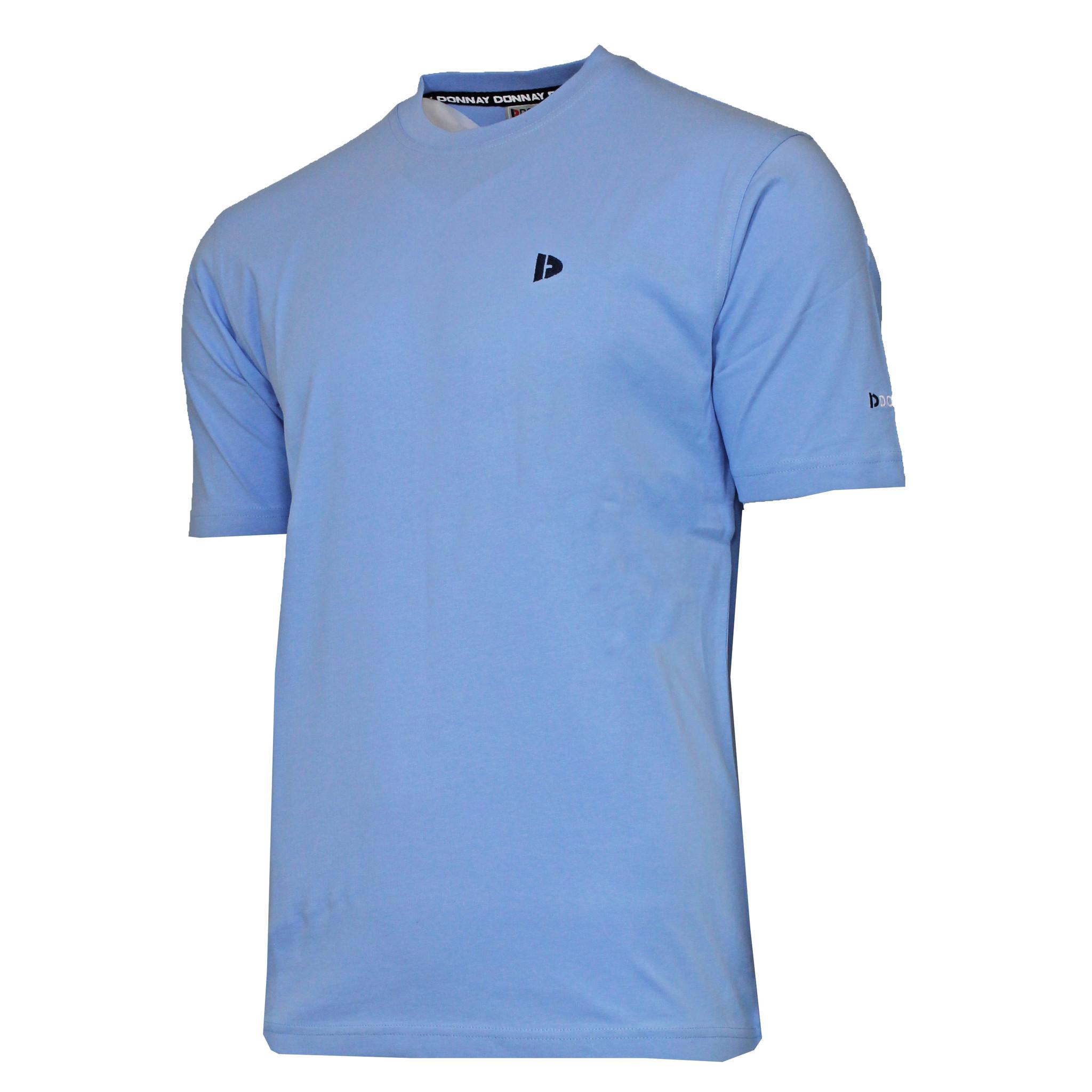 Donnay Donnay Heren - T-Shirt Vince - Vista Blauw