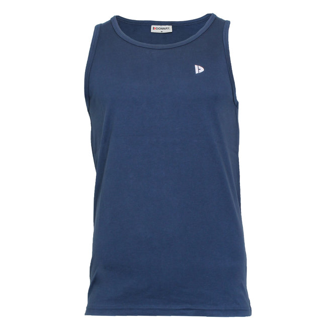 Donnay Heren - Singlet James - Donkerblauw