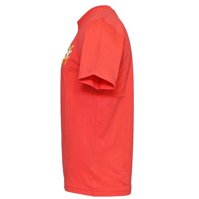 Donnay Heren - T-Shirt Daks - Perzik Oranje