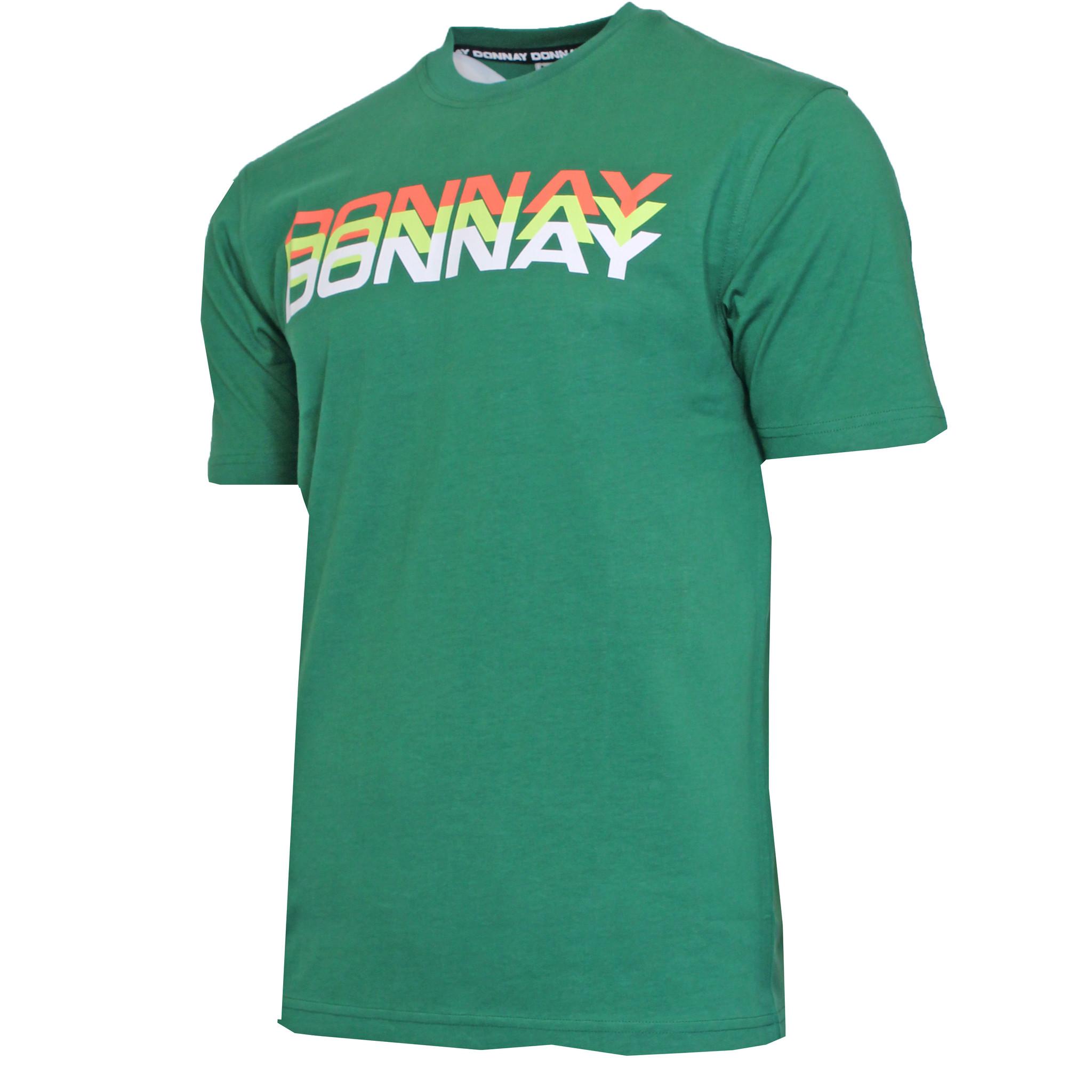 Donnay Donnay Heren - T-Shirt Daks - Bosgroen