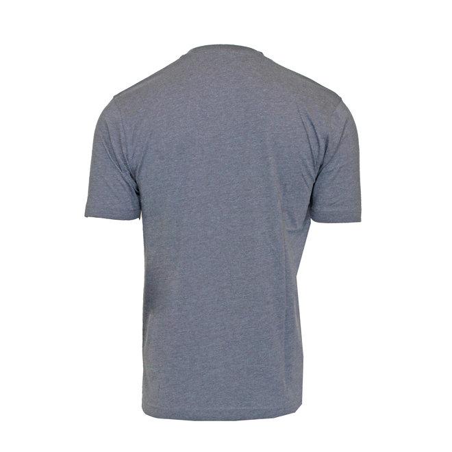 Donnay Heren - T-Shirt Daks -Donkergrijs gemêleerd