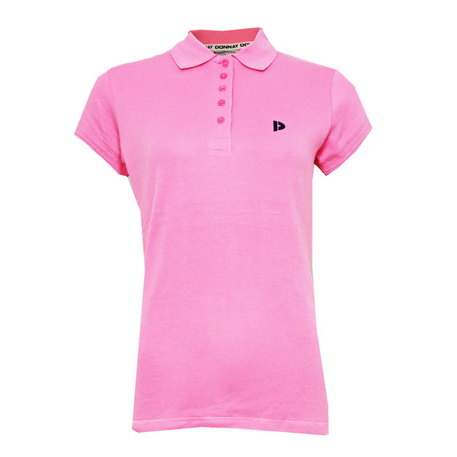 Donnay Dames - Polo Shirt Lisa - Flamingo Roze
