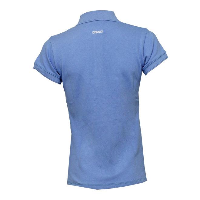 Donnay Dames - Polo Shirt Lisa - Vista Blauw