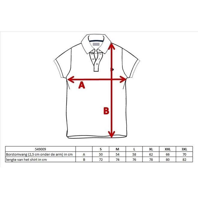 Donnay Heren - Polo shirt Noah - Perzik Oranje